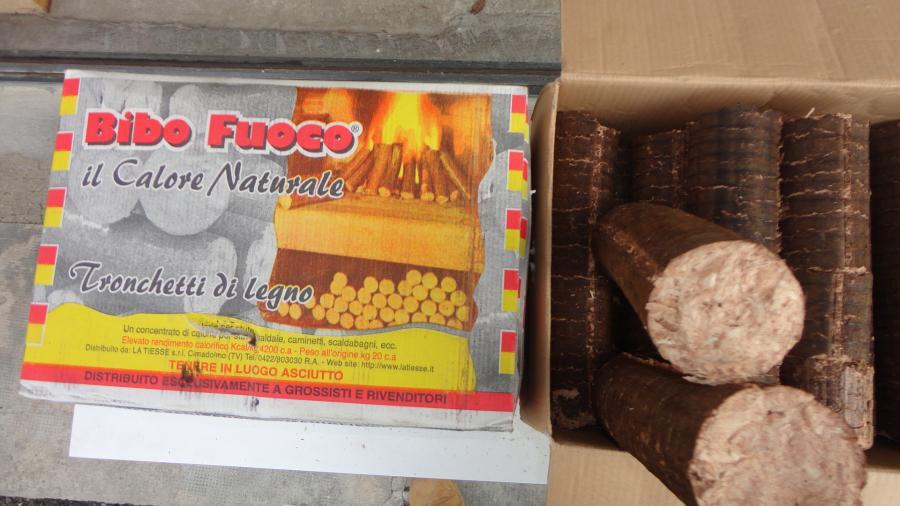 Vendita legna da ardere - pellets - prodotti per riscaldamento e